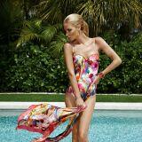 Maillot de bain une-pièce femme coloré effet aquarelle Maryan Mehlhorn