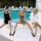 Photos des maillots de bain femme une-pièce et bikinis glamour été 2013