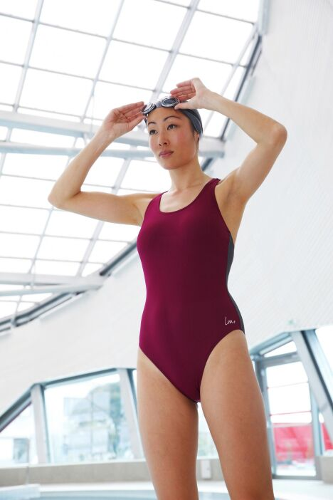 """Maillot LM for Swind - Laure Manaudou for Swind, collection 2013/2014<span class=""""normal italic petit"""">© Laure Manaudou for Swind</span>"""