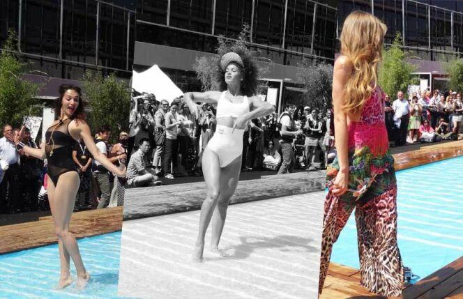 """Maillots de bain et beachwear : les tendances de l'été 2014<span class=""""normal italic petit"""">© www.guide-piscine.fr</span>"""