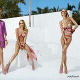 Maillots de bain femme et beachwear motif cachemire Maryan Mehlhorn