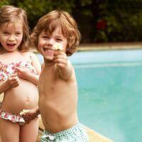 10 maillots de bain pour enfant
