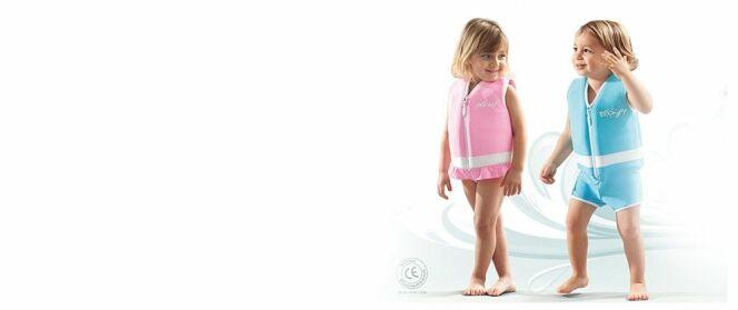 """Maillots flottants pour enfants<span class=""""normal italic petit"""">© Plouf</span>"""