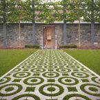 Marlux et le pavé Virage pour créer des allées de jardin originales