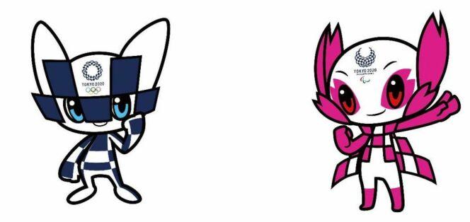 Mascottes des JO de Tokyo 2020