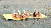Skiflott : le matelas flottant, par Poolstar