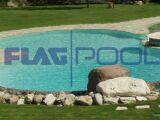 Flagpool : une membrane armée en PVC pour votre piscine
