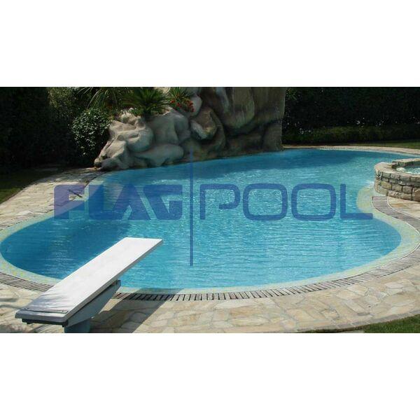 Une membrane en pvc arm e pour votre piscine avec flagpool for Prix membrane pvc arme pour piscine