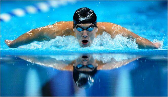 "Michael Phelps<span class=""normal italic petit"">© Michael Phelps</span>"