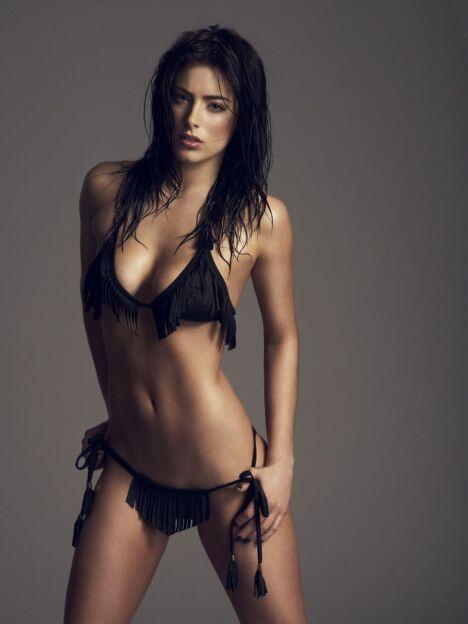 """Micro bikini à franges noir par Sumarie été 2014<span class=""""normal italic petit"""">© Sumarie</span>"""