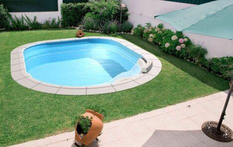 "Mini piscine arrondie ""Lola"" de Waterair"