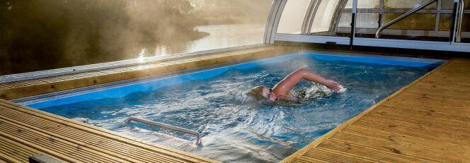 Mini piscine avec nage à contre-courant Endless Pools