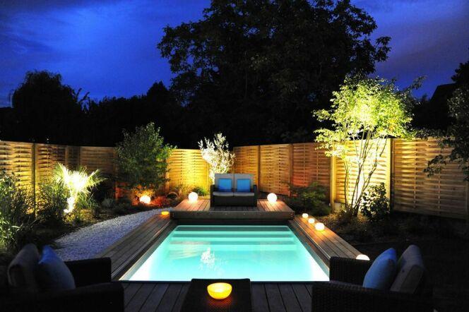 Mini piscine bois Piscinelle
