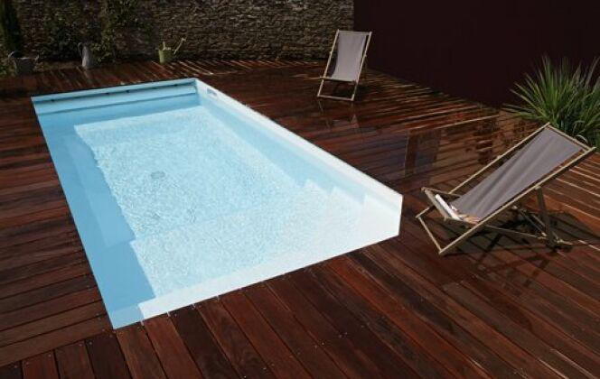 Mini-piscine © Piscines Caron