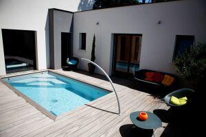 Mini piscine Caron Piscines en béton