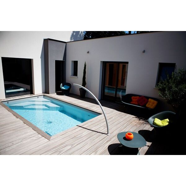 mini piscines fond plat confort caron piscines piscine enterr e caron piscines. Black Bedroom Furniture Sets. Home Design Ideas