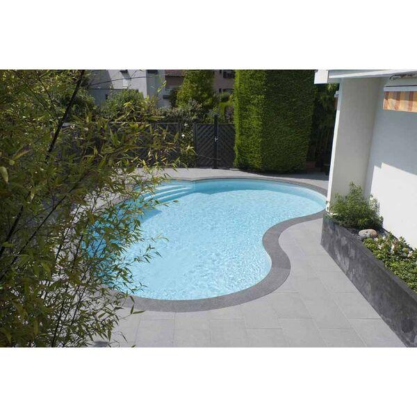 Mini piscine c line de waterair for Piscine forme haricot