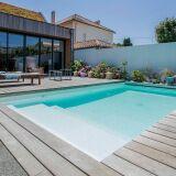 Mini piscines à fond incurvé Caron Piscines