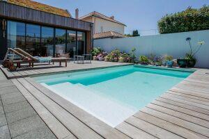 Mini piscine en béton Caron Piscines