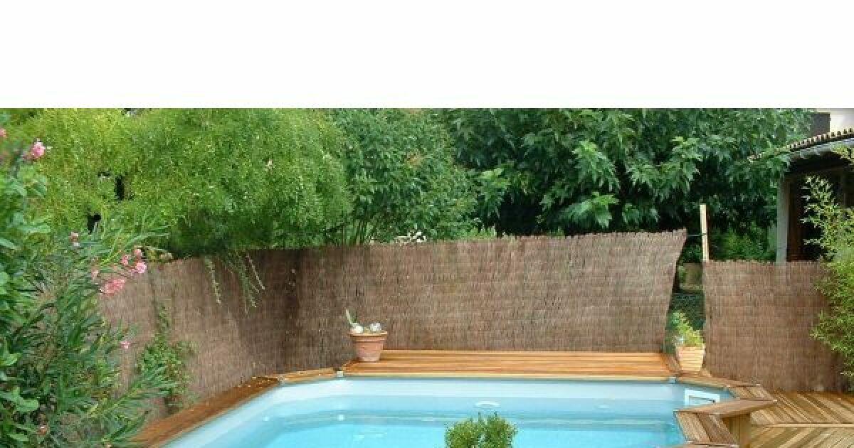 Photos de mini piscines et piscines de petite taille pour - Mini piscine bois ...