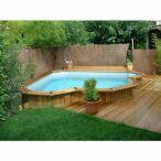 Piscine en bois sur mesure bluewood - Mini piscines enterrees ...