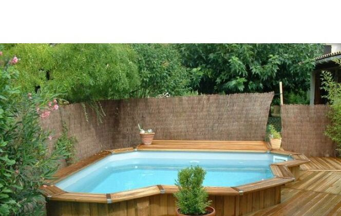 Mini piscine en bois Bluewood © Bluewood