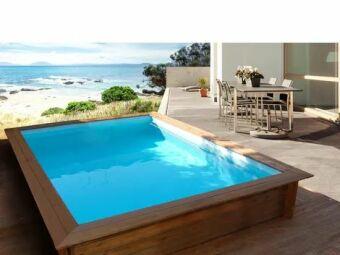 Mini piscine en bois Toledo