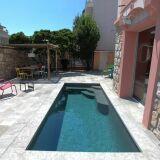 Mini piscine en béton Ixess