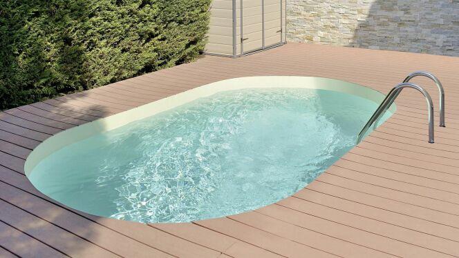 """Mini piscine """"Olivia"""", par Waterair"""