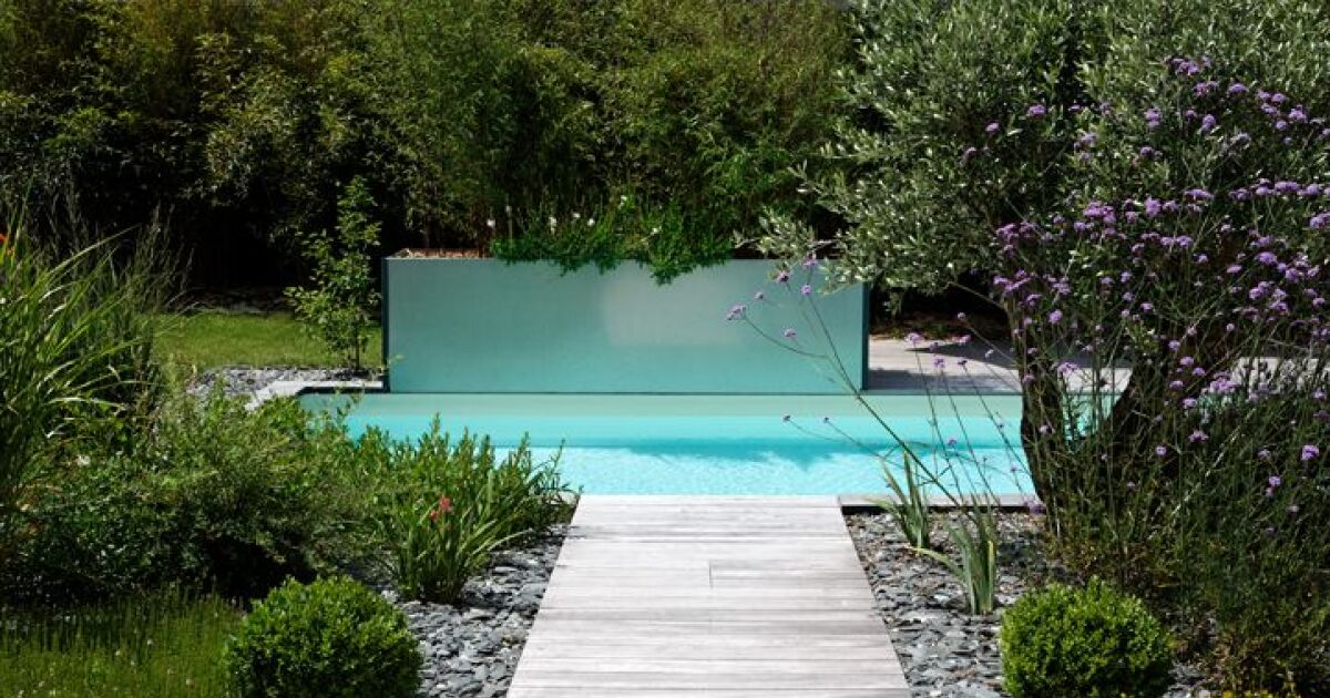 Mini piscine par caron for Prix piscine caron
