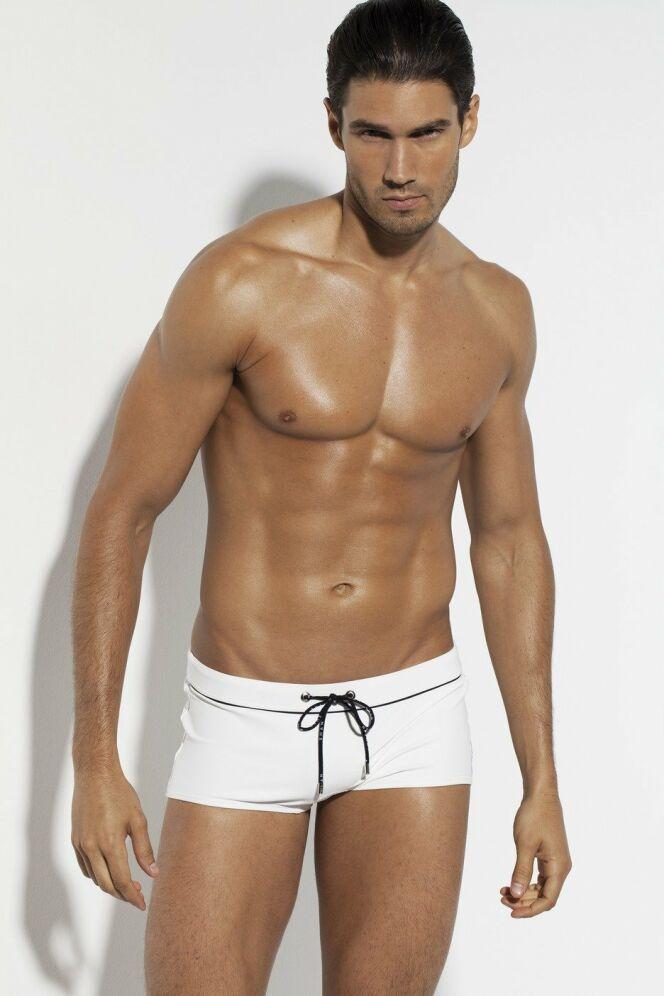 Mini-short blanc homme SHAN 2012