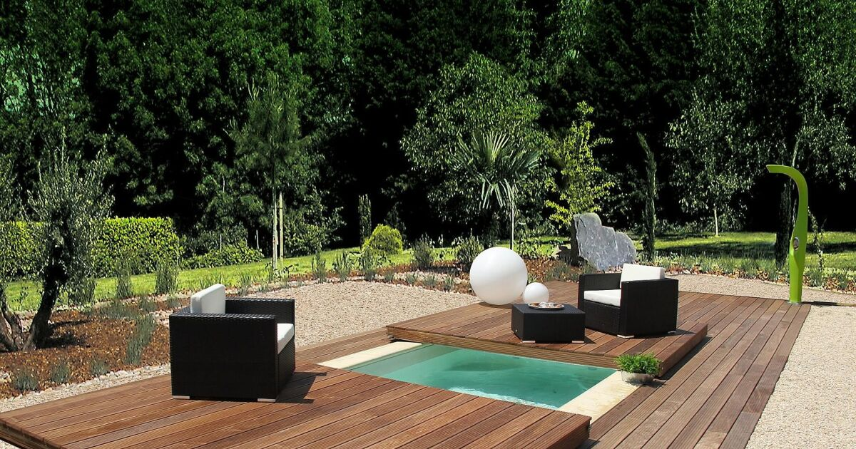 photos de mini piscines et piscines de petite taille pour les petits budgets mini water avec. Black Bedroom Furniture Sets. Home Design Ideas