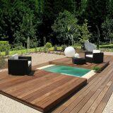 Mini-Water avec plancher escamotable bois par Aquilus