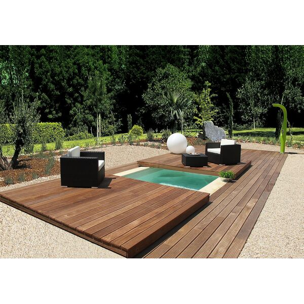 stunning piscine jardin retractable ideas. Black Bedroom Furniture Sets. Home Design Ideas