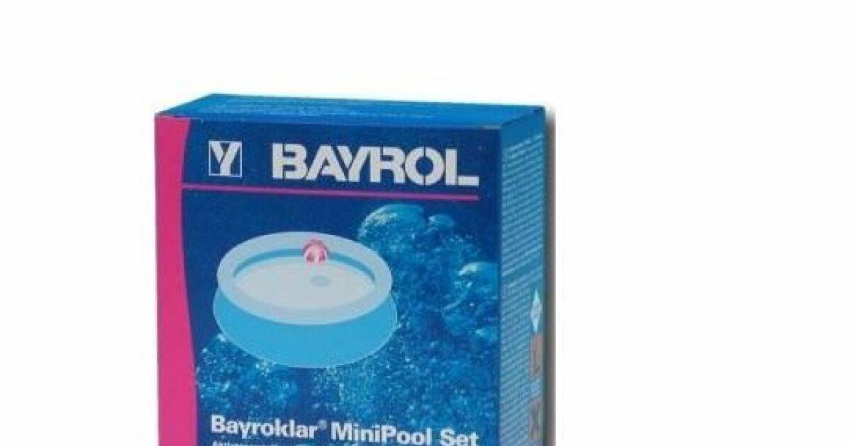 minipool set de bayrol produits de traitement pour. Black Bedroom Furniture Sets. Home Design Ideas