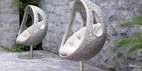"Mobilier de jardin<span class=""normal italic petit"">© Carré Bleu</span>"