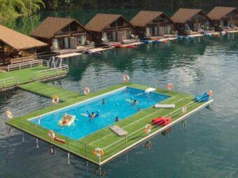 Mobipool, la piscine flottante insolite