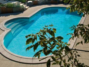 Les piscines en forme d'amande