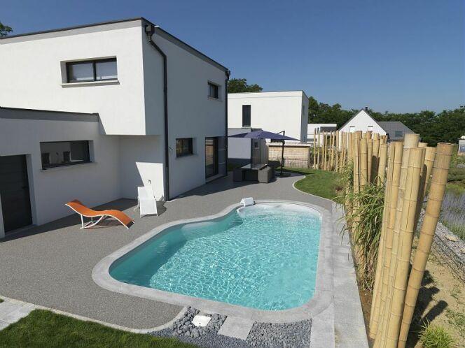 Modèle de piscine Cléa, par Waterair