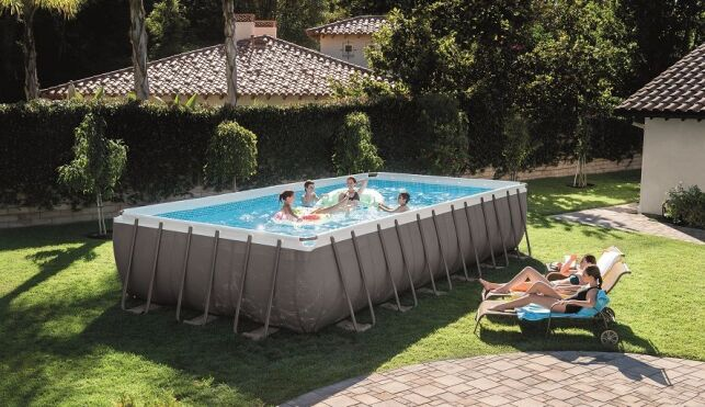 Modèle de piscine tubulaire Intex Ultra Silver