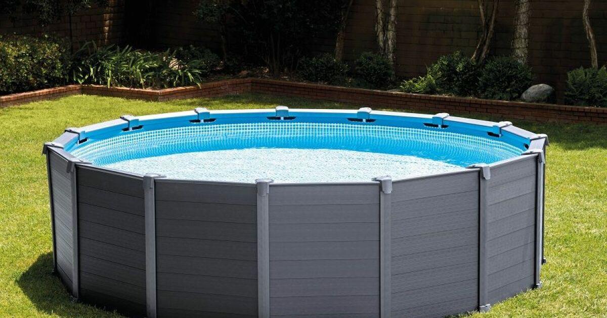 La piscine tubulaire ronde 3 66 la classique for Construction piscine 66