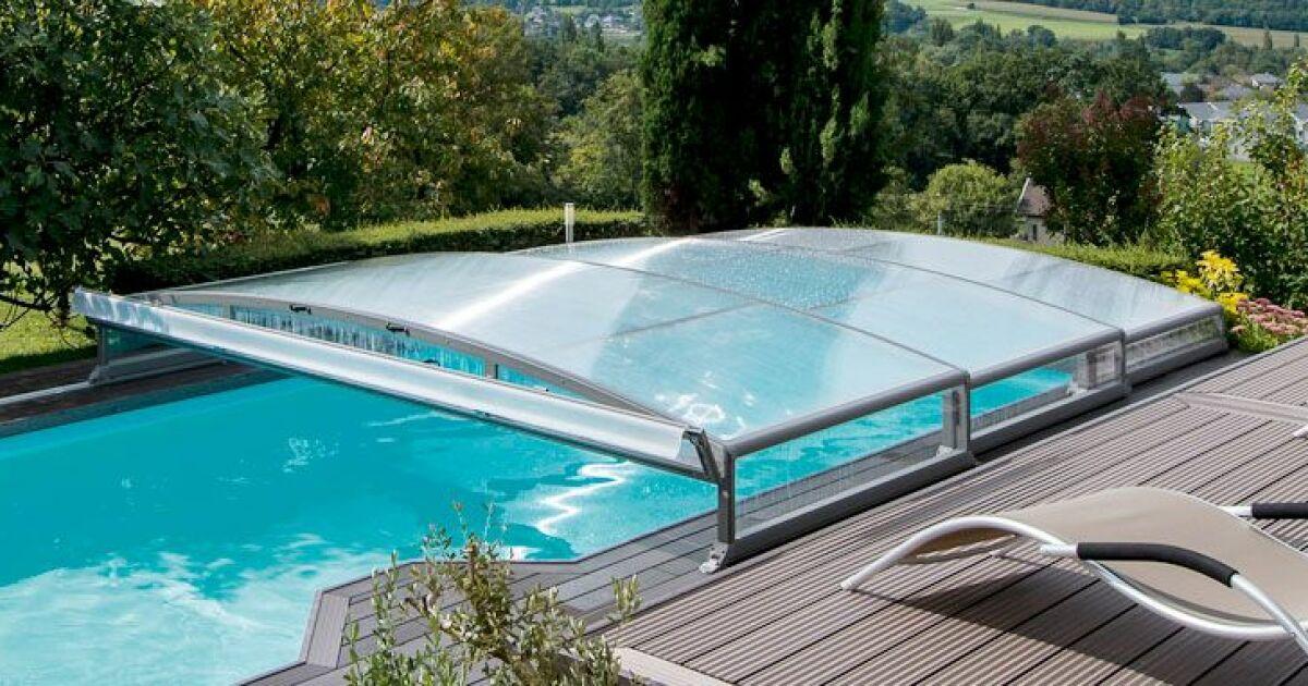 Pour 1 de plus abrideal vous offre le transport et la pose ou la motorisation de votre abri de for Prix couverture piscine
