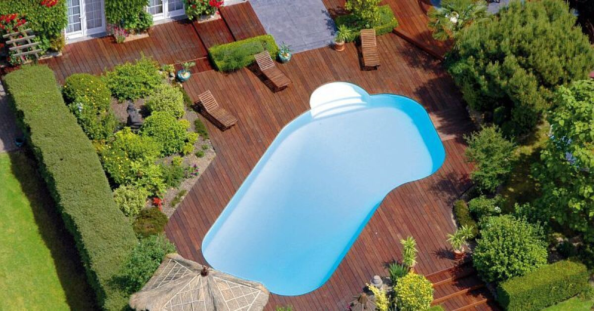 Impot piscine semi enterre une piscine de petites for Piscine keller aquagym