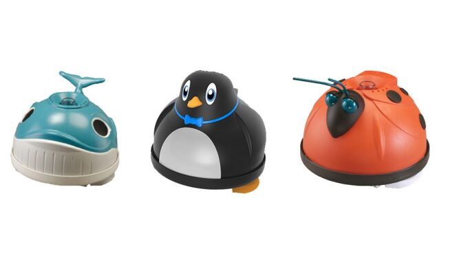 Modèles Whaly, Penguin et Magic Clean