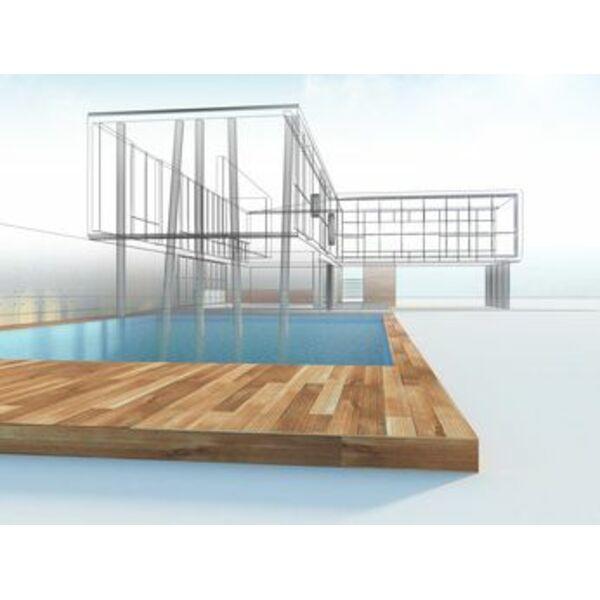 Votre future piscine mod lis e en 3d un bon moyen de for Construction piscine 3d