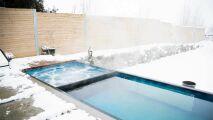 Une piscine à partir d'un container…mais aussi un spa