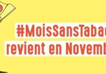 Novembre 2018 : Mois Sans Tabac