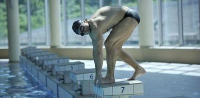 "Musculation et natation <span class=""normal italic petit"">© shock - Fotolia.com</span>"