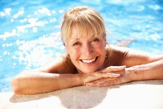 Nager à 60 ans