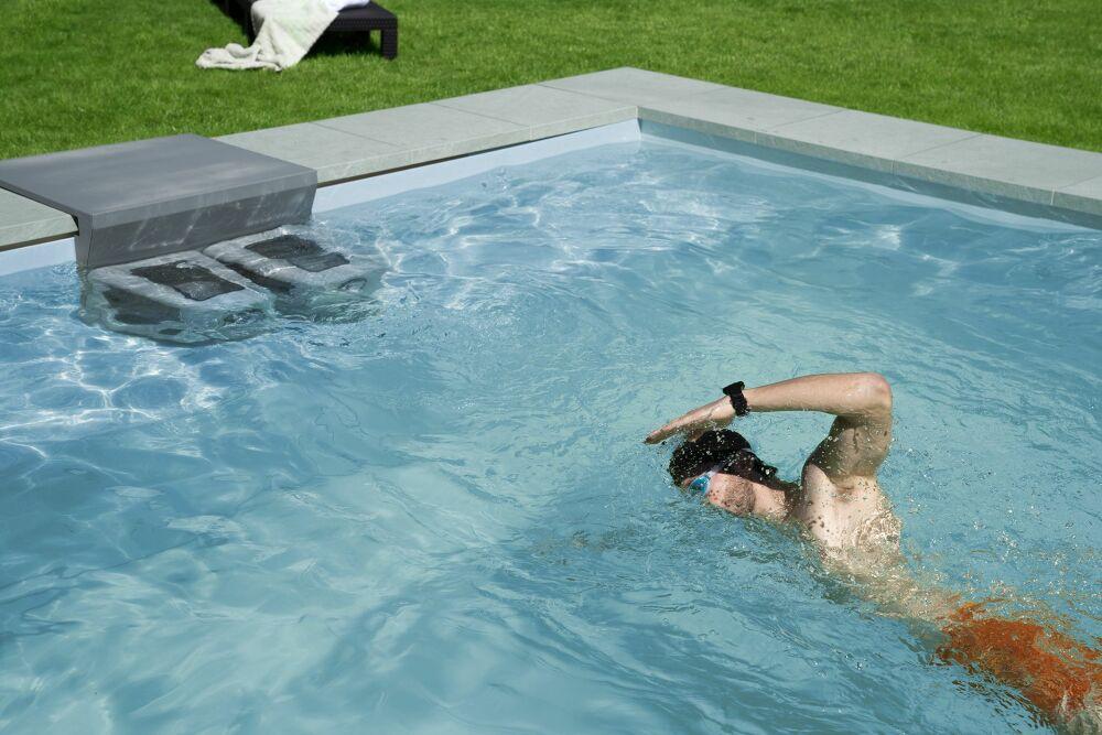 Nager à contre-courant dans sa piscine avec BINDER EasyStar© BINDER